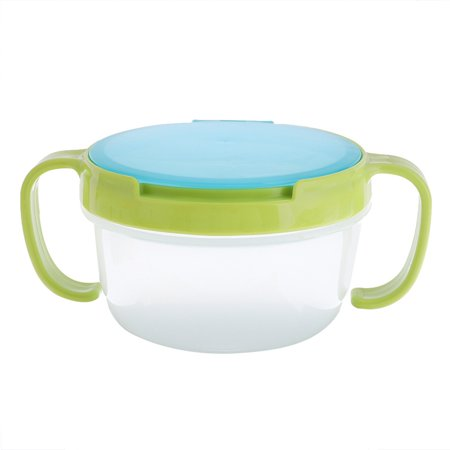 KABOER Baby Kid No Spill Bowl Balance Food Snack Bowl Cup Safe Pot -