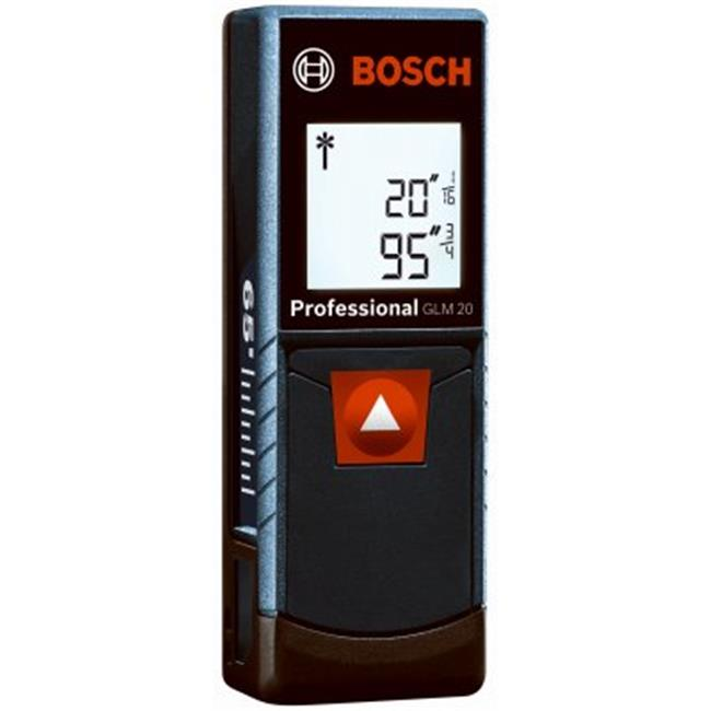 Robert Bosch Tool Group 213709 65 ft. Range, Laser Measure with Backlit Display