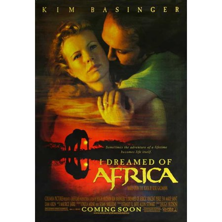I Dreamed Of Africa Poster Movie C  27X40