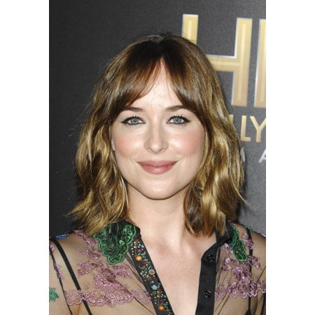 Dakota Johnson At Arrivals For Hollywood Film Awards Canvas Art     16 X 20