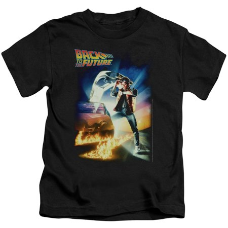 Back To The Future Poster Little Boys Shirt - Back To The Future Nike