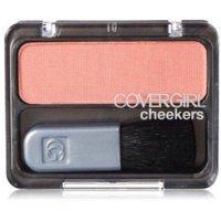 CoverGirl Cheekers Blush, Pretty Peach, 0.12 Oz