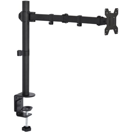 Single Lens Mount - VIVO Single LCD Monitor Fully Adjustable/Tilt up to 27'' Desk Mount Stand