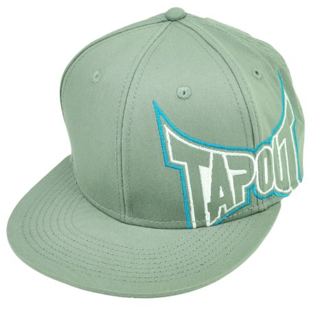 Ufo Cap - Tapout MMA UFC Mixed Martial Arts Snapback Gray Flat Bill Hat Cap Cage Fighting