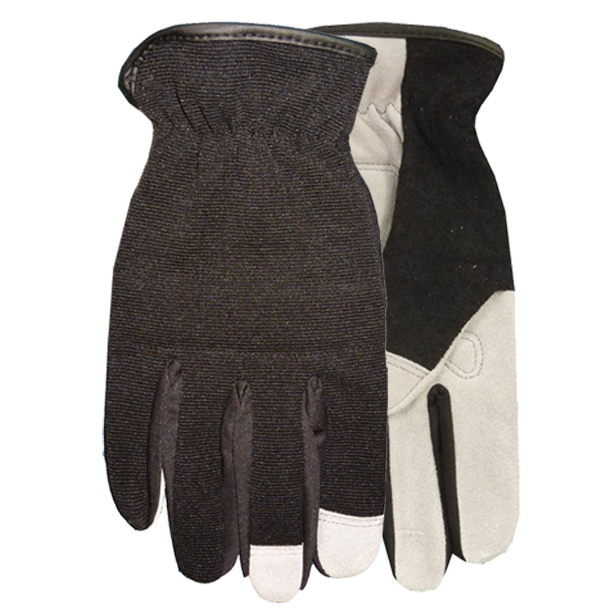 Midwest Quality Gloves, Inc. Men's High-Performance Leather Palm Gloves, Medium
