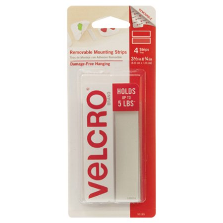 Velcro Usa Consumer Pdts   8Ct 3 4  Mnt Squares  95190