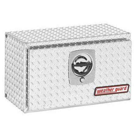 Guard Box - Weather Guard Underbody Truck Box, Silver, 622-0-02