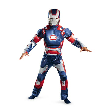 Marvel Iron Patriot Muscle Light Up Child Costume