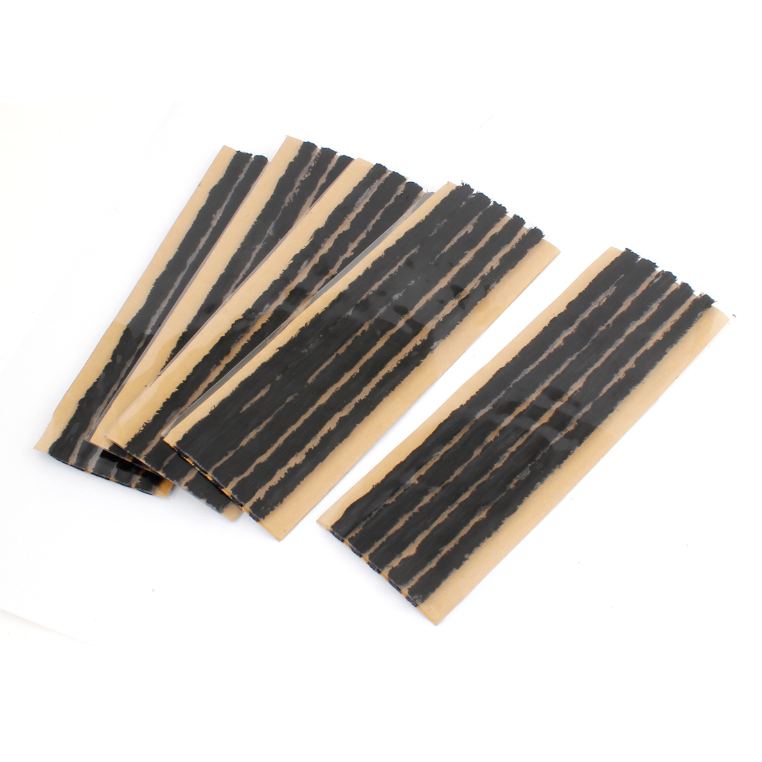 Accessory Black Rubber Repair Type Tubeless Strip Sticker 25 Pcs