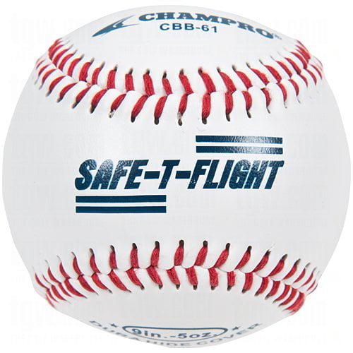 Champro Safe-T-Soft Practice Baseballs 1 12 Ball Pack, 3 Models: Level 1 Level 3 Level 5... by