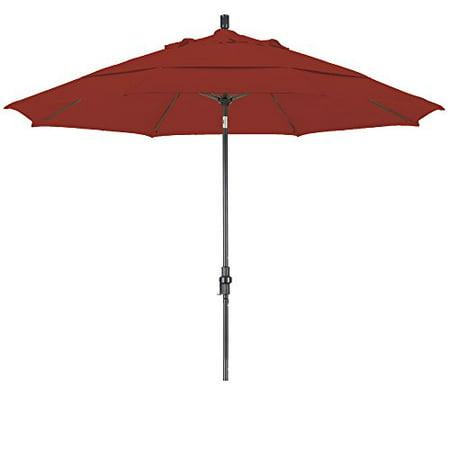- Eclipse Collection 11 Fiberglass Market Umbrella Collar Tilt DV Bronze/Pacifica/Brick