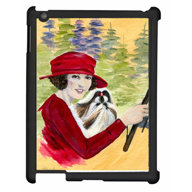 Carolines Treasures SS8539IPADC Lady driving with her Shih Tzu IPAD 2 Or IPAD 3 Snap on ArtCase - image 1 of 1