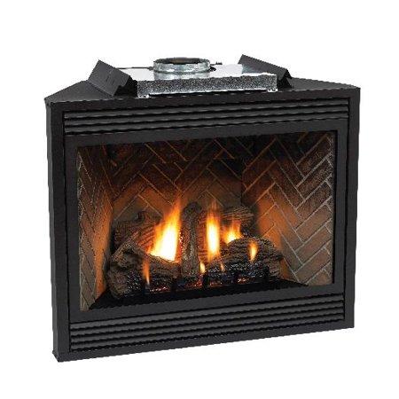 Premium 42 Direct Vent Lp Intermittent Pilot Control Fireplace