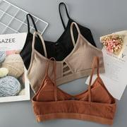 2019 New Women Crochet Lace Vest Crop Top Knitted Bra Boho Beachwear Bikini Tank Holiday
