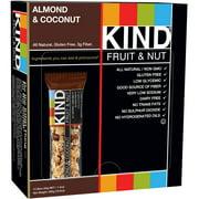 KIND Fruit & Nut Bars, Almond & Coconut, 1.4 oz, 12 Count