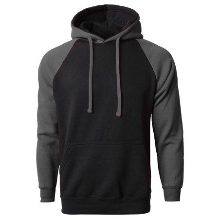 MA Mens Heavy Raglan Premium Pullover Hoodie