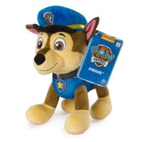 PAW Patrol  8 Chase Plush Toy, Standing Plush with Stitched Detailing, for Ages 3 and Up