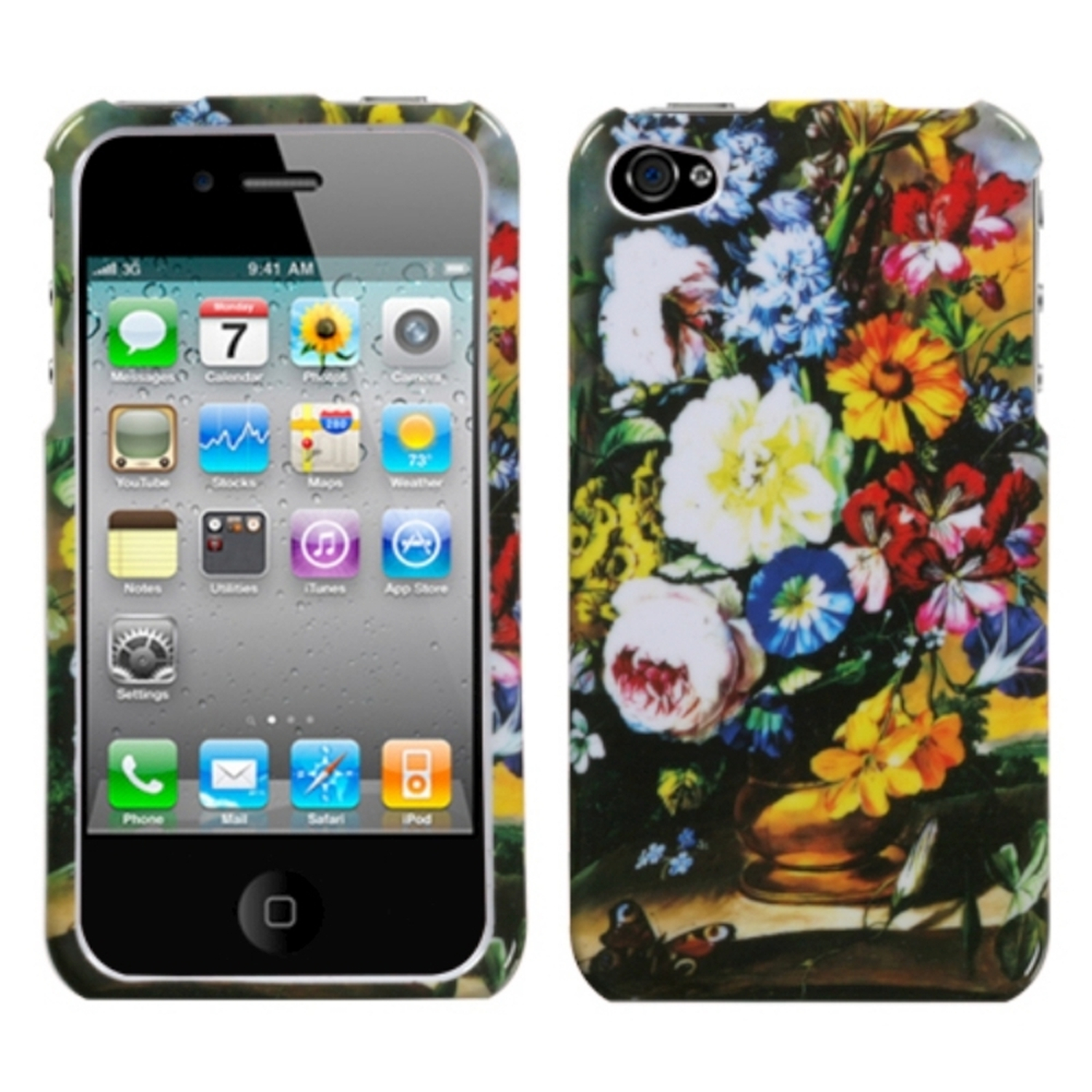 walmart iphone 4s insten blumenstilleben for iphone 4 4s walmart 13270