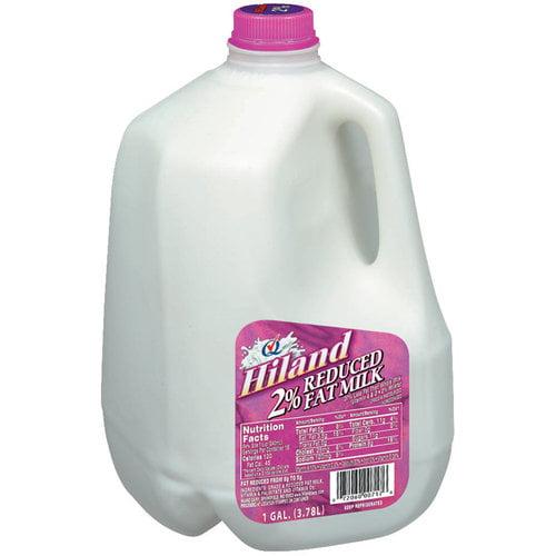 Hiland Reduced Fat 2% Milk, 1 gal
