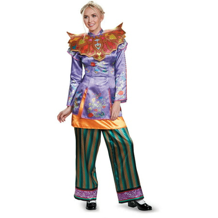 Women's Alice Deluxe Costume - Alice Through The Looking Glass Movie (Alice Halloween Costumes From Alice In Wonderland)