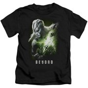 Star Trek Beyond Jaylah Poster Little Boys Shirt