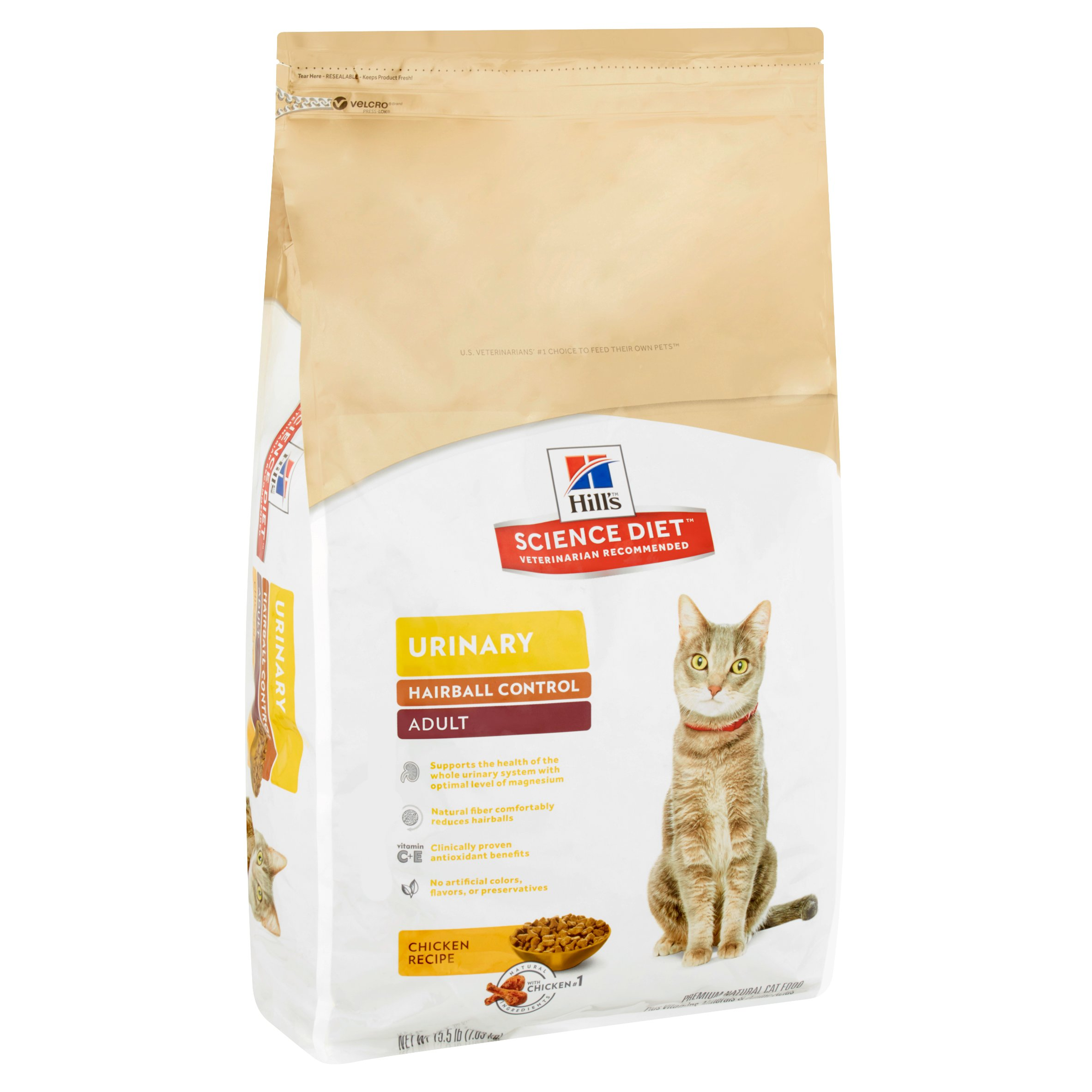 Hill s Science Diet Adult Urinary Hairball Control Chicken Recipe