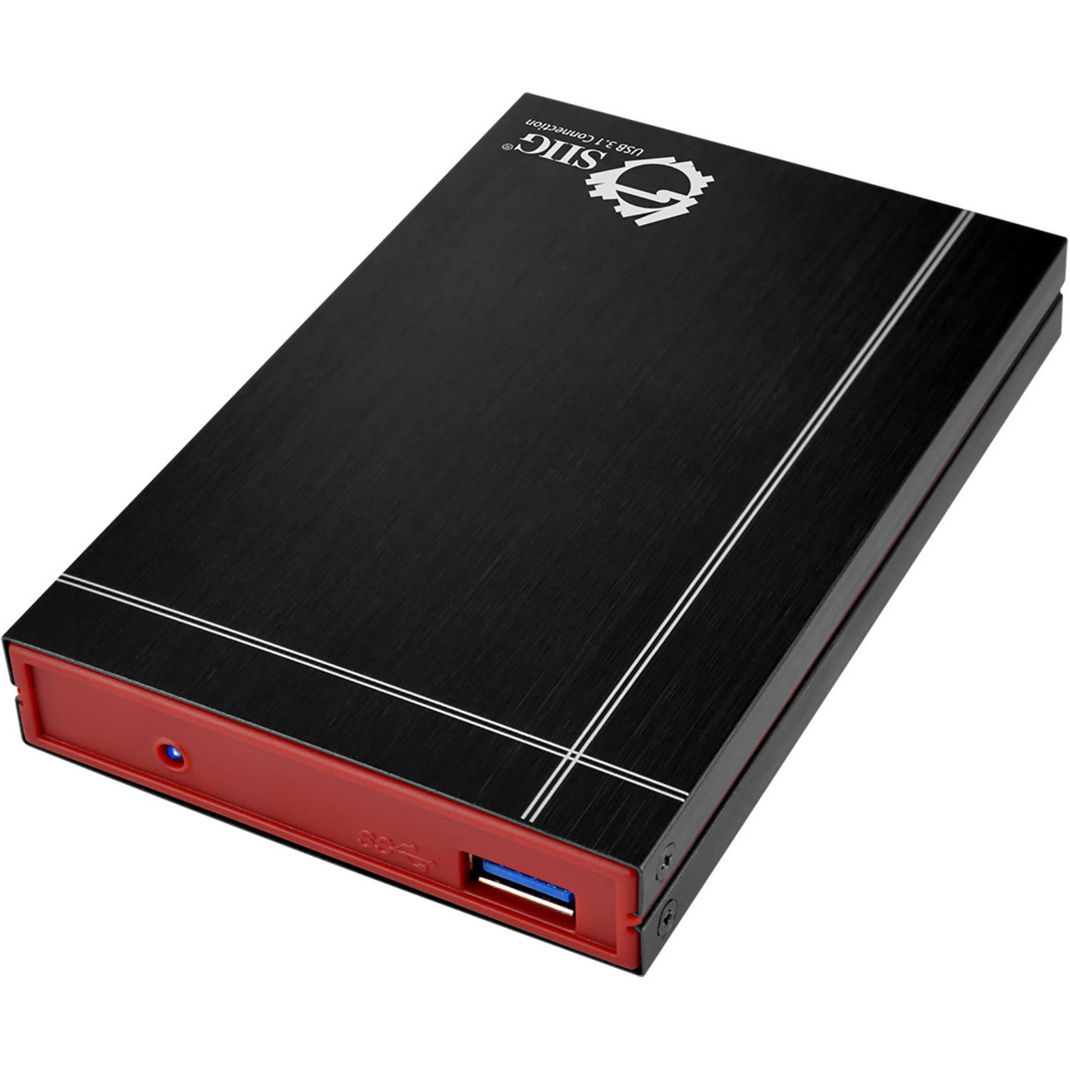 "SIIG USB 3.1 to SATA 2.5"" External Hard Drive Enclosure"