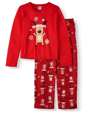Matching Family Christmas Pajamas Youth Boys Reindeer Set