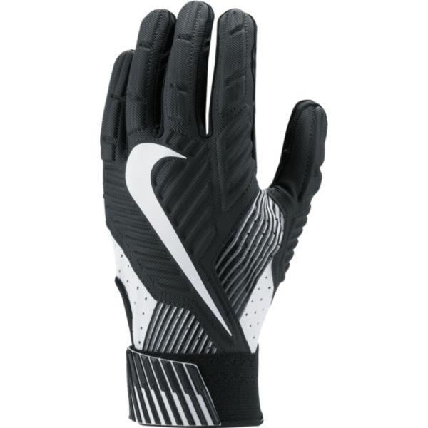 Nike Men's D‑Tack 5.0 Lineman Football Gloves GF0385-010 Black/Black/White