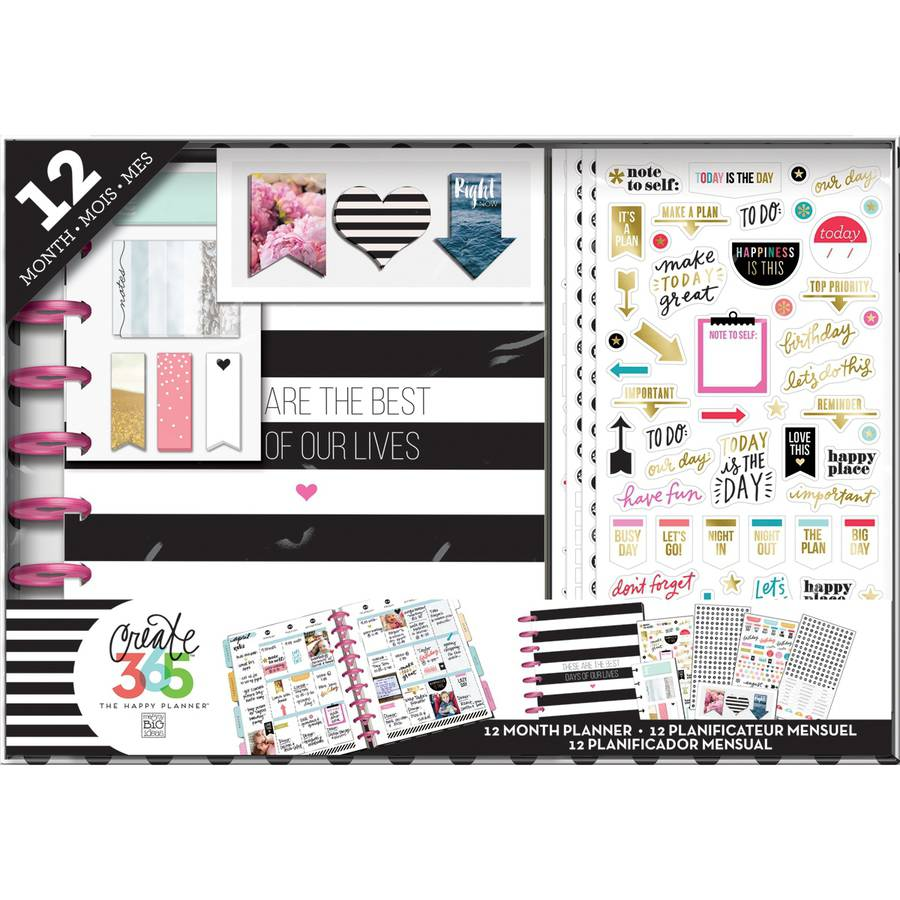 Me and My Big Ideas Create 365 Planner Box Kit, Best Day