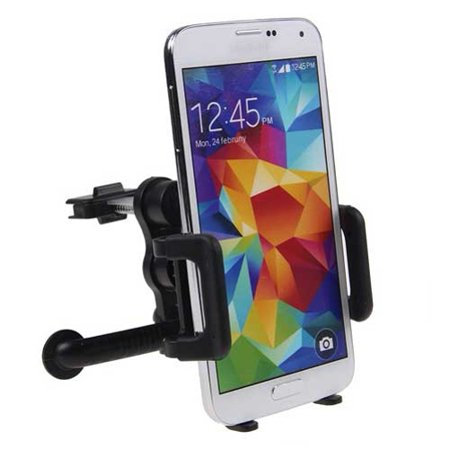 Samsung Galaxy S8 Car Mount AC Air Vent Holder Rotating Cradle Dock Vehicle Swivel Stand W8Q