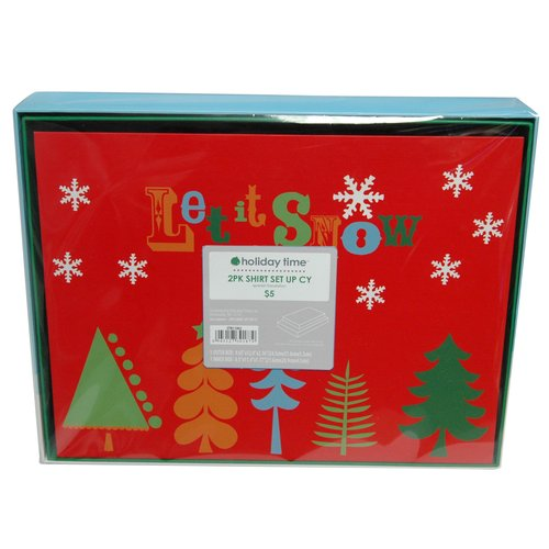 Santa Shirt Box, 2 Pack