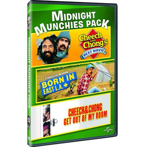 Midnight Munchies Pack: Cheech And Chong's Next Movie / Born In East L.A. / Cheech And Chong Get Out Of My Room