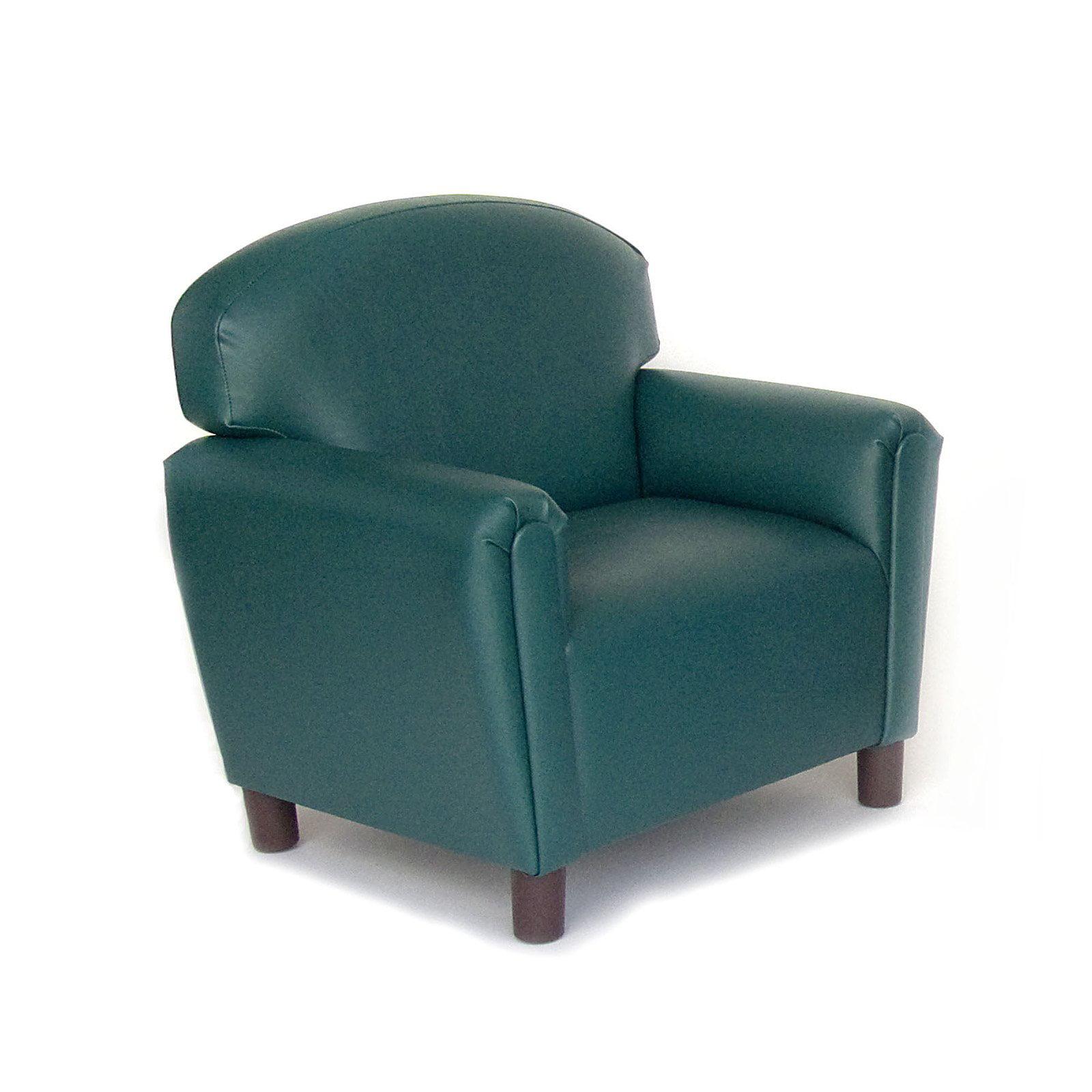 Brand New World Vinyl Upholstered Preschool Sofa by Brand New World