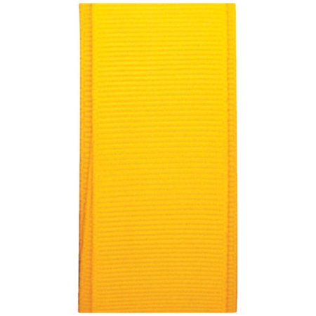 Giftwrap Co. Bright Yellow Grosgrain Ribbon 7/8 inch x 12ft - Yellow Ribbons