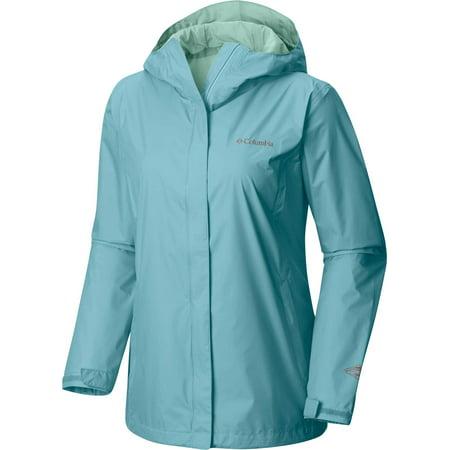 Columbia Women's Arcadia II Rain Jacket, Iceberg, L ()