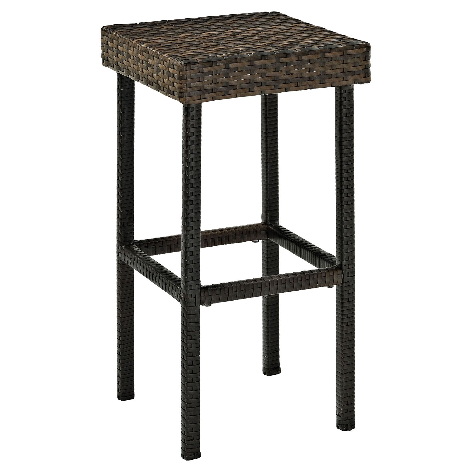 Exceptionnel Crosley Palm Harbor Outdoor Wicker Bar Height Stool, Set Of 2   Walmart.com