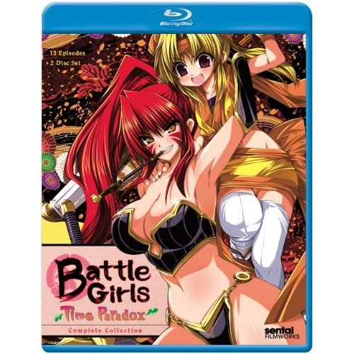 Battle Girls Time Paradox: Complete Collection (Blu-ray)