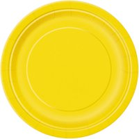 Party Paper Plates, 9in, 16ct (Click to Select Color)