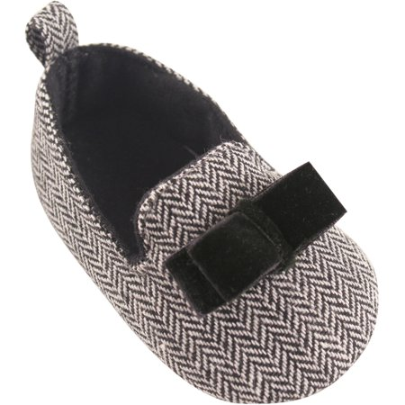 Newborn Baby Girls' Tweed Slipper Flat - Licensed Baby Slipper