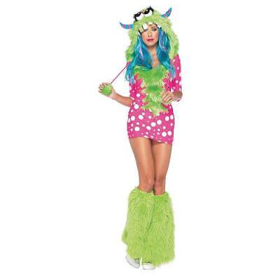 Womens Monster Costumes (IN-13595705 Melody Monster Halloween Costume for Women)