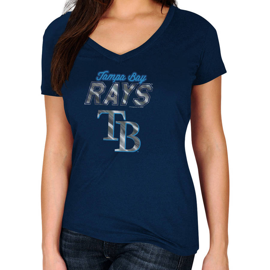 MLB Tampa Bay Rays Plus Size Women's Basic Tee