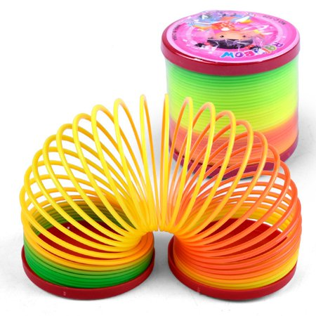 Rainbow Coil - JEFFENLY Jumbo Rainbow Coil Spring - for Boys, Girls, Parties, Gifts, & Birthdays