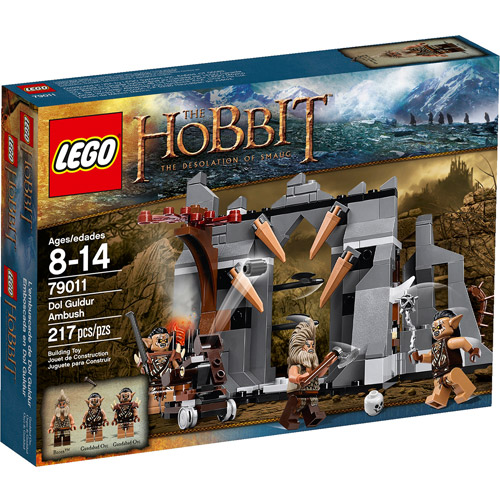 LEGO The Hobbit: The Desolation of Smaug Dol Guldur Ambush Play Set