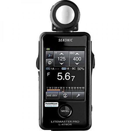 Discontinued Sekonic L-478DR LiteMaster Pro Lightmeter, Replaced With Sekonic