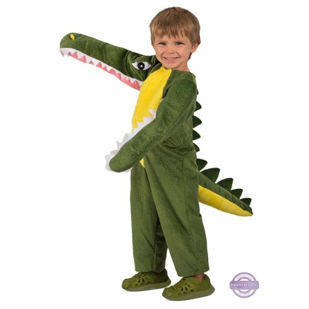 Diy Crocodile Costume (Boys Chompin' Crocodile)