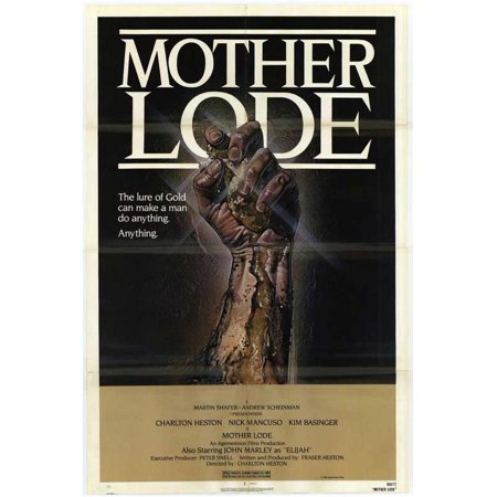 Mother Lode Poster Movie  27X40