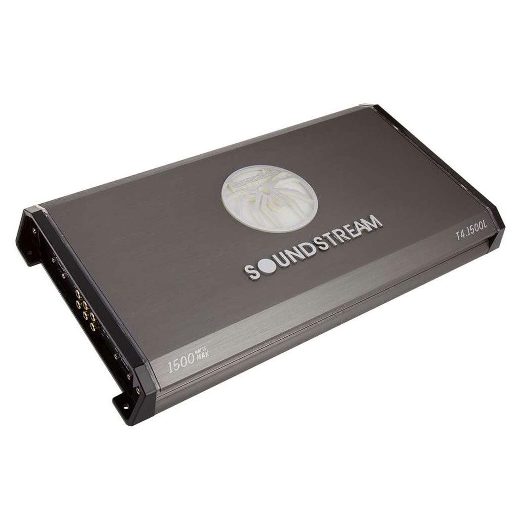 Soundstream T4.1500L Tarantula Series 1500 Watt 4 Channel Car Audio Amplifier