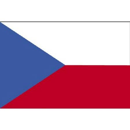 3x5 Czech Republic Flag Banner Country Pennant