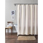 Better Homes and Gardens Porter Stripe Fabric Shower Curtain ...